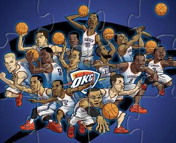 Oklahoma Thunder Team