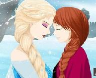 Elsa and Anna Frozen Puzzle