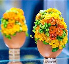 Flower Egg Jigsaw Puzzle