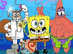 SpongeBob Friends Puzzle