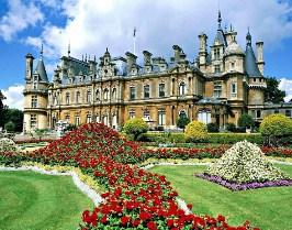 Desenhos de Castle Buckinghamshire England para colorir