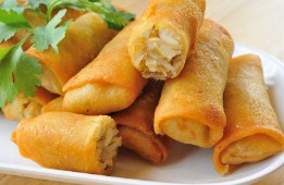 Chinese Spring Rolls Jigsaw Puzzle