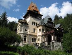 Pelisor castle Sinaia Romania