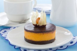 Pumpkin Cheesecake With Chocolate Jigsaw Puzzle