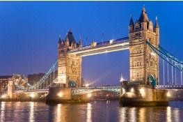 Desenhos de Tower Bridge London Jigsaw Puzzle para colorir