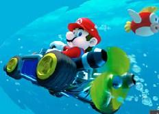 Desenhos de Mario Driving Underwater para colorir