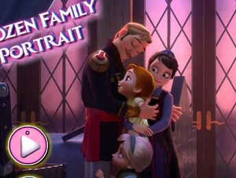Frozen Family Portrait