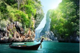 Long Boat Thailand Jigsaw Puzzle