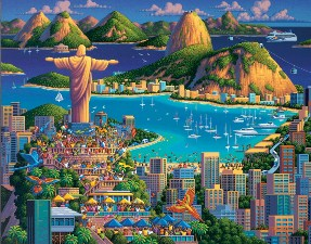 Rio De Janeiro 20×16