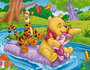 Winnie The Pooh Adventure Jigsaw Puzzle