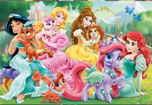 Palace Pets and Their Princesses