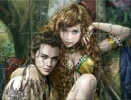 Prince and Princess Jigsaw  for Kids