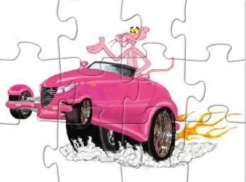 Pink Panther Car