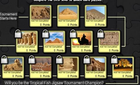 Egypt Jigsaw Tournament