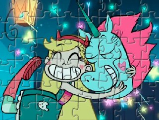 Star Butterfly Happy Puzzle
