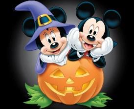 Mickey and Minnie Halloween