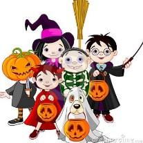 POTW Halloween children in costume
