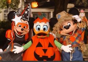 Halloween characters Magic Kingdom
