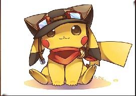 Cute Pikachu Jigsaw