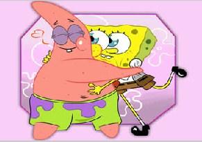 Patrick and SpongeBob Jigsaw