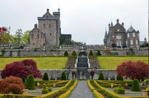 Drummond castle Schotland