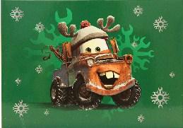 Cars Christmas Time Jigsaw