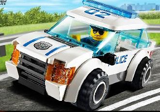 Lego Police Car Jigsaw