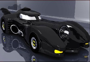 Batman Car Jigsaw