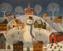 Village Snowman