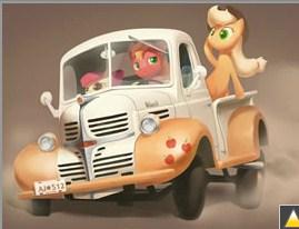 Apple Truck Jigsaw