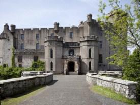 Castle Isle of Skye Schotland