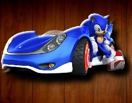 Sonic 2 Race Car