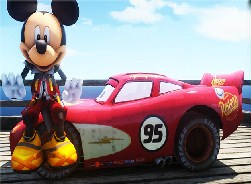 Lightning and Mickey Mouse
