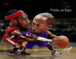 Lebron James vs Kobe Bryant