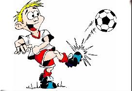 Funny Soccer Cartoon Puzzle