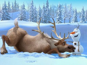 Sven and Olaf ing Puzzle