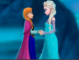 Frozen Sisters Jigsaw Puzzle