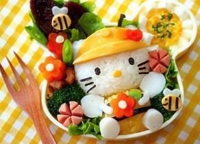 Ensalada Hello Kitty