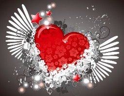 Glying Heart