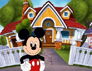 Mickey and his House Puzzle