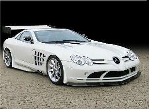 Mercedes White Beest