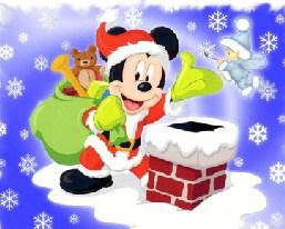 Mickey Santa Puzzle