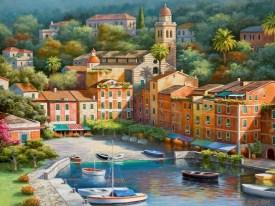 Italian Seaside Village