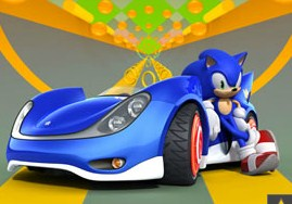 Sonic Racing Puzzle