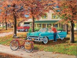 Vintage Art Charles Wysocki Jigsaw Puzzle