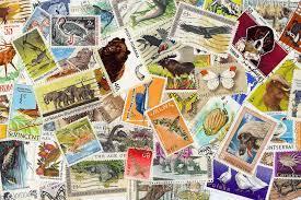 Desenhos de Animal Stamps Jigsaw Puzzle para colorir