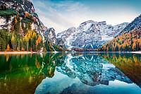Autumn in Italian Alps