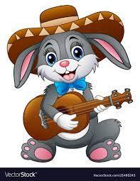 Bunny Guitar Jigsaw Puzzle