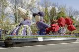 Dutch Flower Parade in Holland
