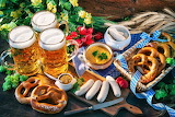 Food and Beer Oktoberfest Jigsaw Puzzle